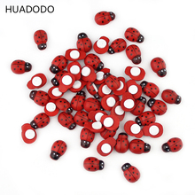 Ladybug Scrapbooking Self-adhesive 100PCS/Lot