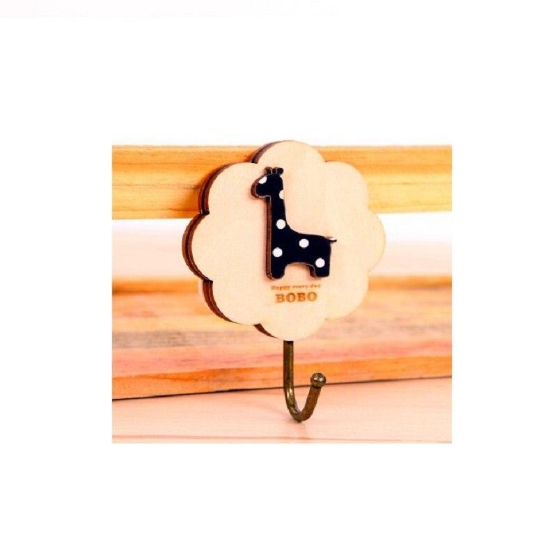 1 шт. деревянный творчества крючки Eamless вставить анти-деформации сухой и влажной нижнее белье сушилка сильный бесшовные крюк стены молния