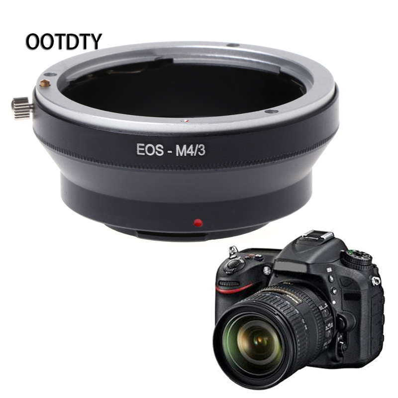 OOTDTY Camera Ring Adapter M4/3 Mount Adapter Ring For Canon EOS EF Mount Lens for Panasonic