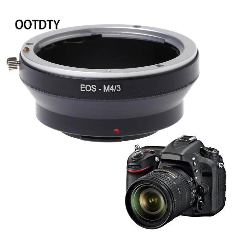 Ootdty Cámara anillo adaptador M4/3 montaje anillo adaptador para Canon EOS EF montaje lente para panasonic