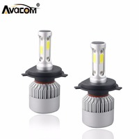 S2 12V H4 H7 LED Car Headlight Bulb COB H11 H1 H13 H3 9004 9005 9006