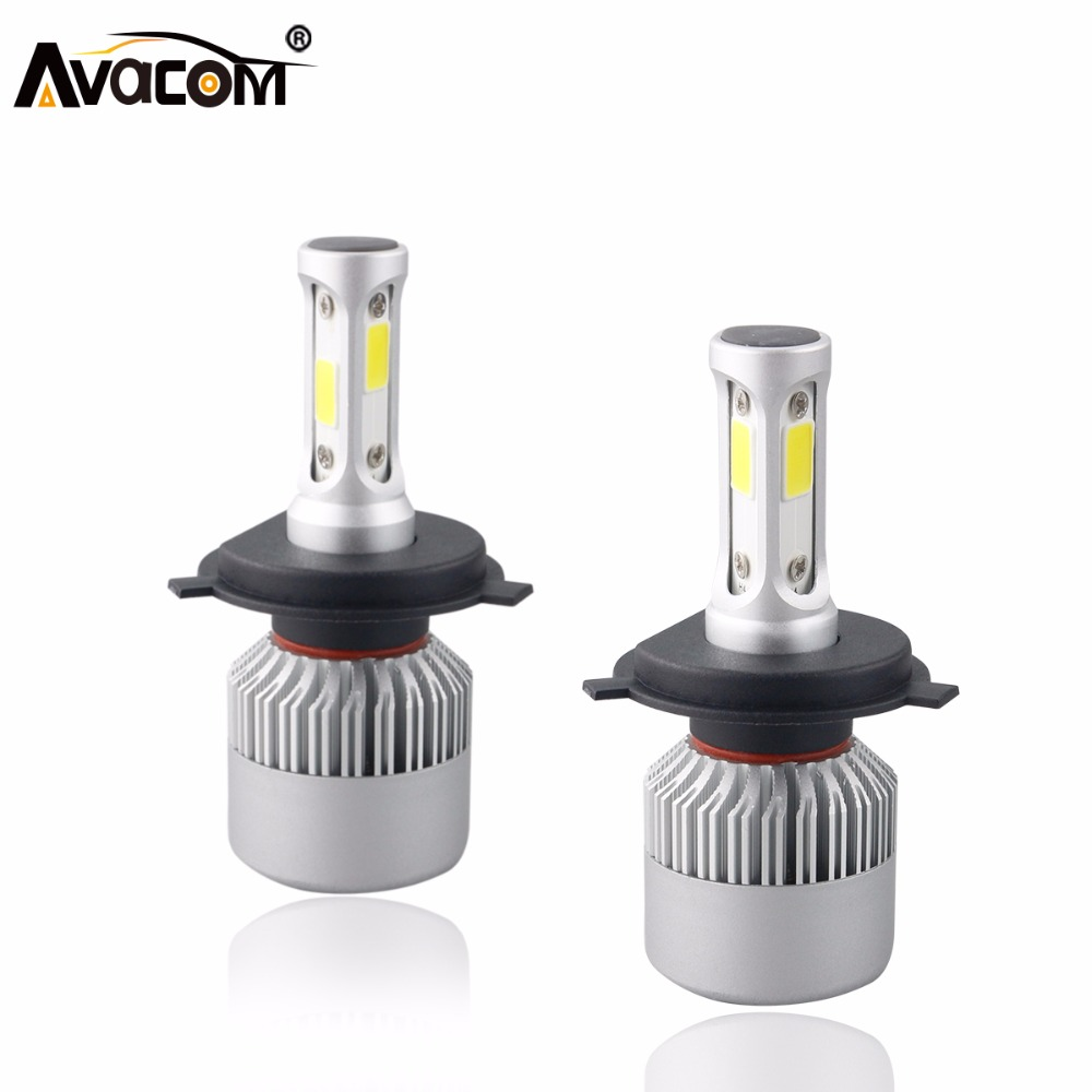 S2 12V H4 H7 LED Car Headlight Bulb COB H11 H1 H13 H3 9004 9005 9006 9007 9012 Hi-Lo Beam 72W 8000LM 6500K IP65 Auto Headlamp car headlight led h4 h7 h11 72w 8000lm 6000k led h1 h3 h13 9005 9006 9004 880 9007 auto cob bulb automobiles headlamp car light