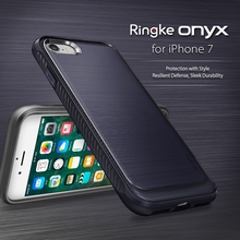 Original Ringke ONYX for Apple iPhone 7 7 Plus Case Premium Extreme Protection Anti-Slip Shockproof Rugged Soft TPU Cover Cases