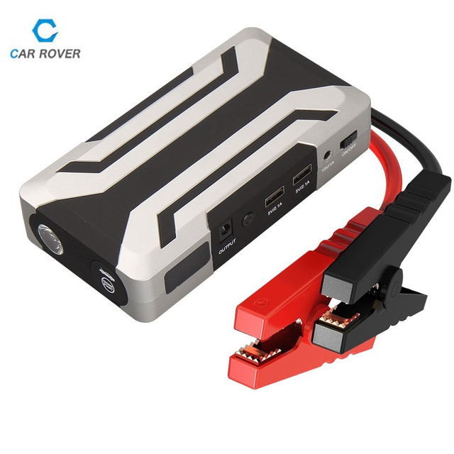 Car Rover Car Jump Starter 18000mAh Portable Power Bank Car Charger Booster for Petrol 8.0L Diesel 6.0L with 1000A Peak Current