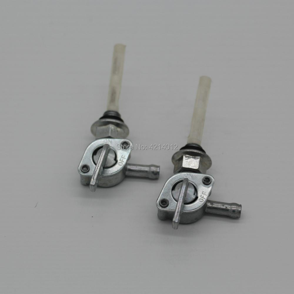 10mm Metal Motorcycle Fuel Tank On/Off Fuel Petcock Valve Switch For 2 Stroke Motorized Bicycle 49cc-80cc and ATV pit dirt bike