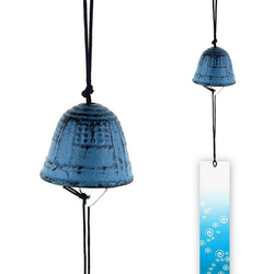 Hot-selling Traditional Japanese Furin Wind Chime Nambu Cast Iron Iwachu Bells 15 high quanlity  Good Luck Bell