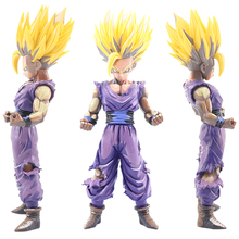 25cm Anime Figurine Dragon Ball Z Super Saiyan Son Gohan Master Stars Piece Action Figures Collectible Model Toy For Children #E pikachu action figures toys 7cm ball super master ball cute plastic toy for children s gift