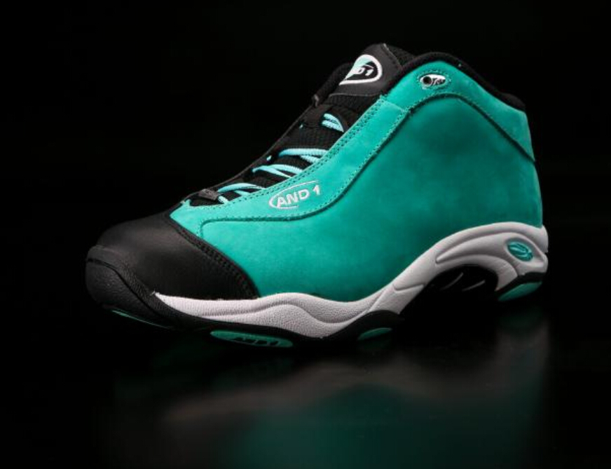 41f0cc83fee Free shipping 100% authentic Tai Chi AND1 basketball shoes new black and  green rubber cloth size 6.5 8 9 9.5 10.5 12 13 14 15-in Basketball Shoes  from ...