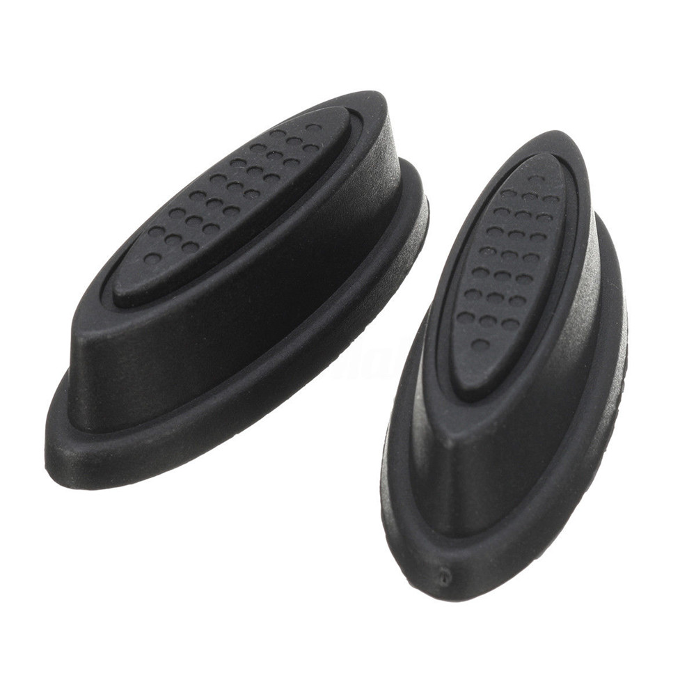 Luggage & Bags 2x Replacement Plastic Luggage Stud Foot Feet Pad Black For Any Bags Kit Fashion Luggage Feet Plastic Feet Dropshipp Special Summer Sale