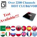 Power IPTV+S912 H96PRO Android 6.0 2GB/16GB 2.4G/5GHz Arabic French Germany Netherlands Portugal Italian Adult xxx Europe IPTV