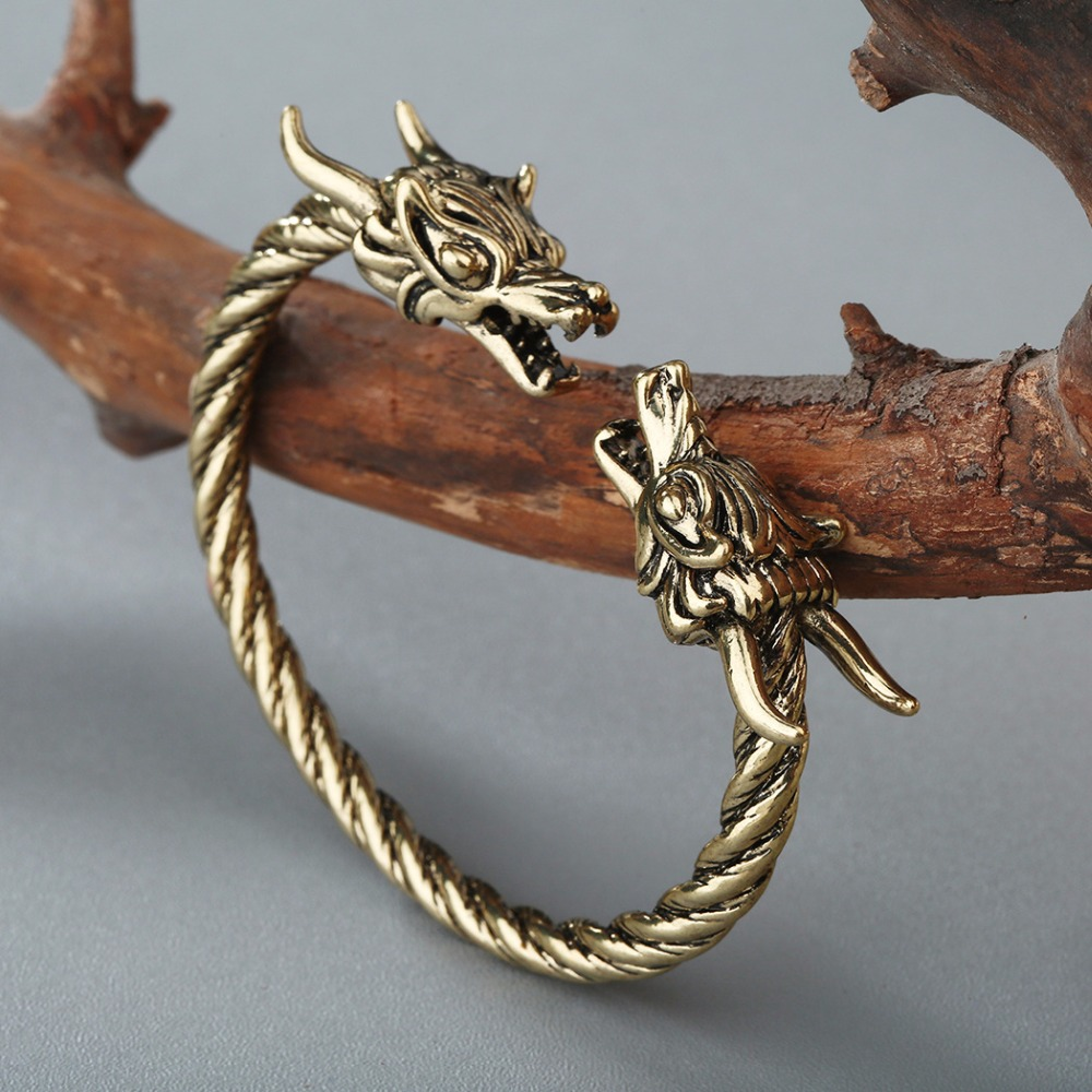 Bracelet Viking Dragon hommes 5