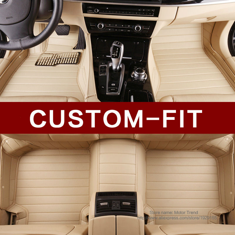 Custom make car floor mats GS GS 200t 250 300 350 450H CT200H ES ES350 NX NX300H RX RX200T IS 3D car-styling rugs carpet liners