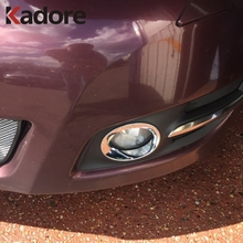 For Nissan Teana 2008 2009 2010 ABS Chrome Front Fog Light Cover Trim Car Styling Auto