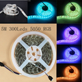 300Leds 12V 14.4W/m 1PC 5M SMD 5050 LED Strip Light High Power LED Bare board IP20 Home Decoration for Christmas LED Flexible