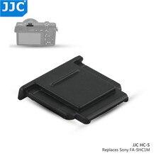 Camera Giày Nóng Bao Da Nắp Cho Sony A7C A7S III ZV1 A7R IV A7R II A77 II A9 II A6100 a6600 A6300 A6000 RX10 II Thay Thế Cho FA SHC1M
