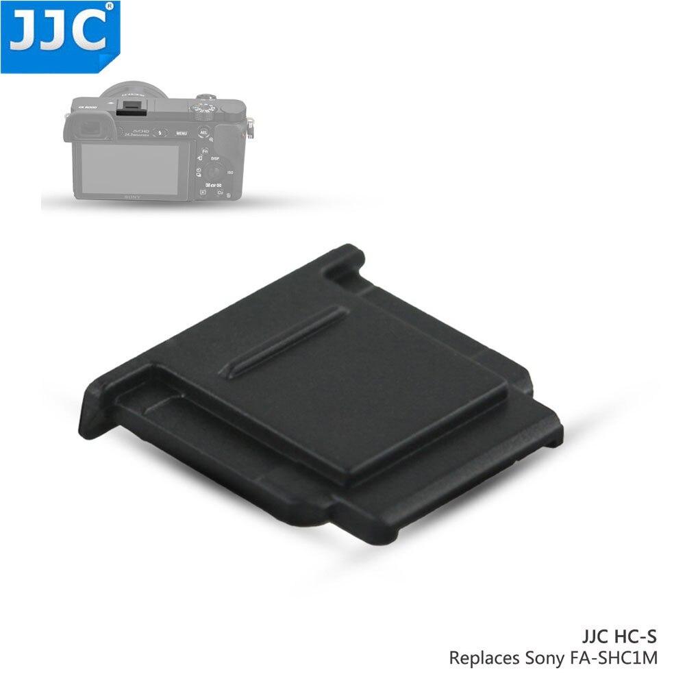 JJC Hot Shoe Cover Cold Shoes Cap Protector For Sony A7RII/A77II/A3500/A6000/A7R/A58/RX10 II/RX100II/RX1R/RX1R II/A7SII/A6300 jjc camera hot shoe cover black white protector cap for sony a7iii a77ii a3000 a6000 a6300 a6500 a99 ii a7 replace sony fa shc1m