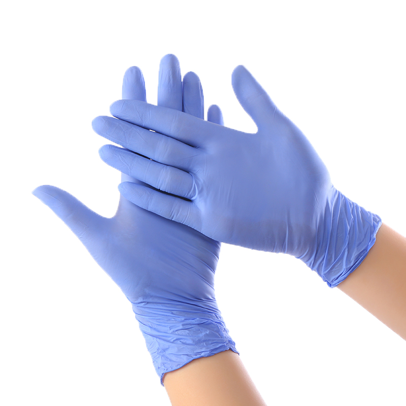 100pcs Disposable Latex Rubber Gloves Household Cleaning Experiment Catering Gloves Universal Left And Right Hand