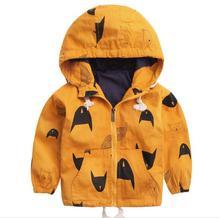 2019 spring children's clothes boys coats causal warm print fleece thicken hooded baby boy coats for boys kids coats outerwear цена в Москве и Питере