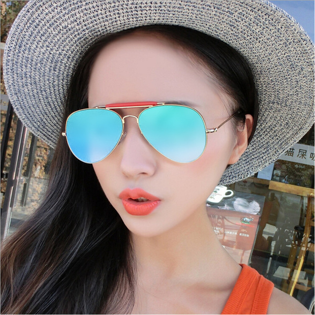 5caf96e80e New Flat Tom Browne Women Sunglasses Brand Designer Vintage Mirror Sun  Glasses Alloy Frame Men Pilot Sunglasses Shades TB018