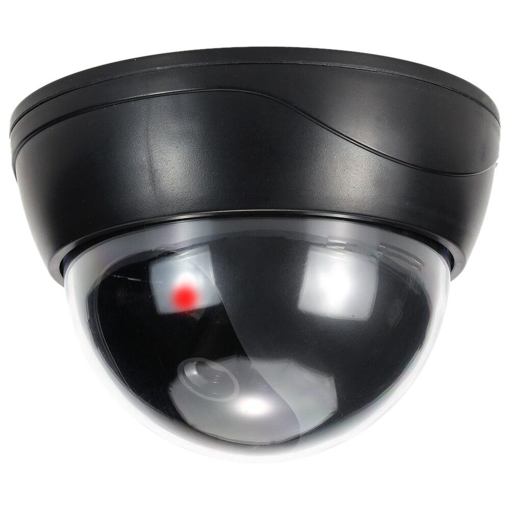 Simulation Dome Camera Red Led Blinking Light Fake Dummy
