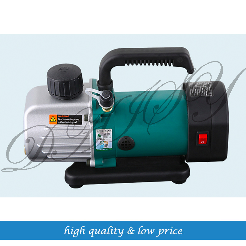 1.8CFM 150micron PCV-2M 50L/MIN Single Stage Air-conditioning Rotary Vane Vacuum Pump tw 4a single stage 4 l rotary vane type portable vacuum pump with a single stage