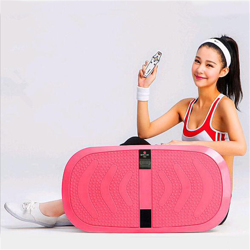3D Crazy Fit Slim Machine Vibrating Exercise Plate