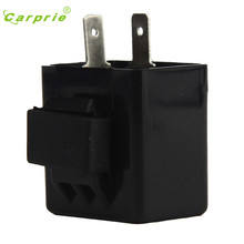 CARPRIE Hot Selling motorcycle switch Electronic LED Turn Signals Flasher Blinker Relay 12V 2 Pin Motorcycle Relay Gift May 17