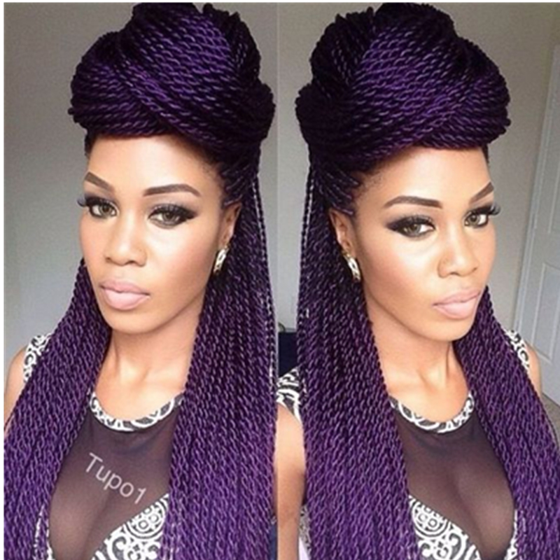 Crochet Hair Aliexpress : ... hair crochet twist braids hair-in Bulk Hair from Hair Extensions