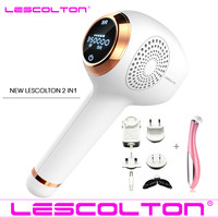 NEW Lescolton IPL Epilator Permanent Laser Hair Removal LCD Display 350000 Pulses depilador a laser Bikini Trimmer Photoepilator