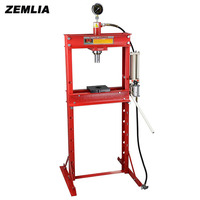 20 Ton Press With Gague Double Column Gantry Hand Pneumatic Table With Hydraulic Presses