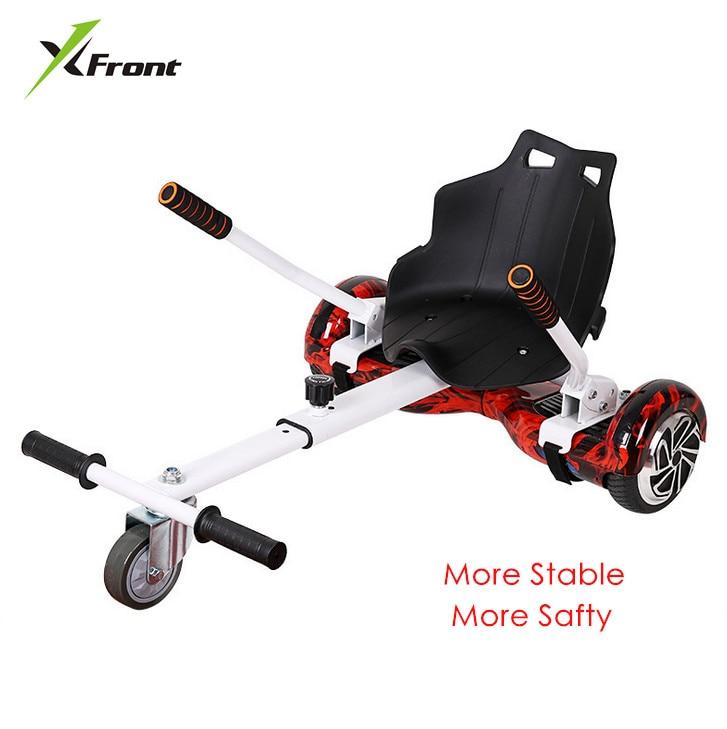 X-front marque Hoverkart pour 6.5, 8, 10 pouces hoverboard accessoires scooter Karting Kart véhicule pour adultes enfants