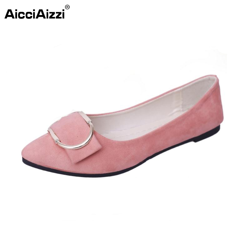 Sexy Ladies Flats Shoes Women Bowtie Flat Shoe Pointed Toe Solid Color Office Lady Party Leisure Wedding Footwears Size 35-41 eiswelt shoes spring summer fashion rivet flats party pointed flock women shoes wedding shoes glitter flat ladies shoes zjf84