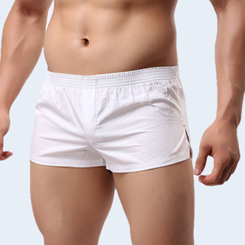 Soutong Boxer Shorts Mens Cotton Cueca Man Casual Home-Wear Male Underwear Thin Panties Pajamas Homme Hombre Knickers Underpants