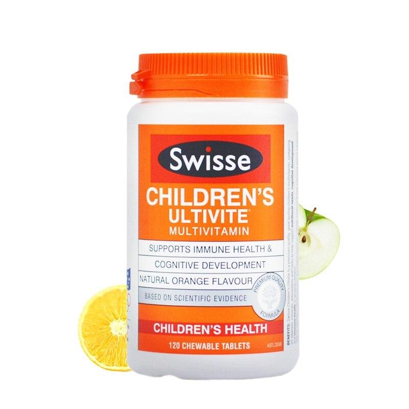 Australia Swisse Children's Great Tasting Multivitamins Support CHILDREN Immune Health Cognitive Development