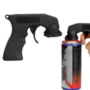 Image 4 - Professional Aerosol Car Spray Paint Gun Handle Adapter Full Grip Handle Trigger Airbrush For Painting Auto Paint Polish Tools