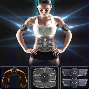 Image 1 - Ems Muscle abs Stimulator Abdominal Hip Trainer electric vibrate massager Weight Loss relaxation Body Slimming Belt Unisex