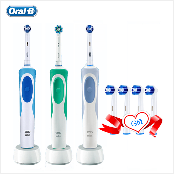 escova de dentes elétrica oralb eb18 rotação