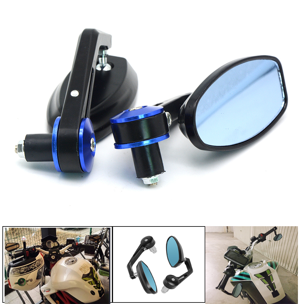 Motorcycle accessories Mirror View Side Rear Mirror Handle bar For TRIUMPH 675 STREET TRIPLE R er6n cb500x tmax 530 versys 650