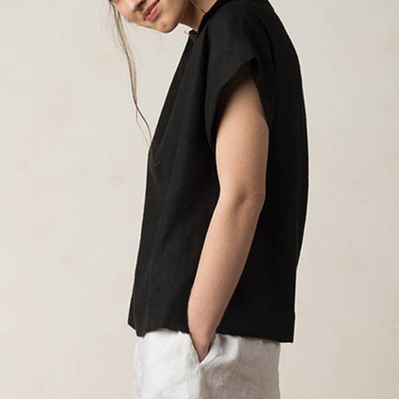 Celmia Women Vintage Linen Tops Plus Size Blouses 19 Summer V Neck Short Sleeve Shirts Casual Tunic Female Blusas Femininas 12