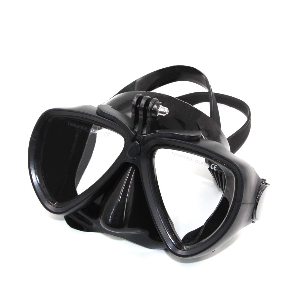 Underwater Diving Mask Scuba Snorkel Face Goggles Glasses for GoPro 7 6 5 4 3 3+