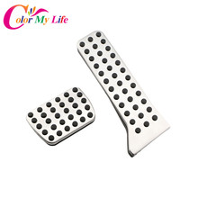 Stainless Steel Car Gas Pedal Brake Pedals Case for Mazda 3 2014+ Axela for Mazda 6 2014 + Atenza for Mazda Cx-5 Cx5 Accessories