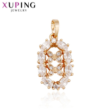 11.11 Deals Xuping Elegant Charm Pendant 2017 New Gift With Synthetic CZ Fashion Jewelry for Women Canada Day Gifts S61-32867(China)