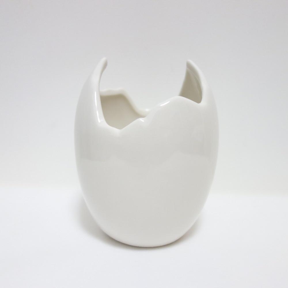 compare prices on white modern vase online shoppingbuy low price  - new broken eggshell flower vase white ceramic modern vases decorativeschinese ceramic vase art mini ceramic