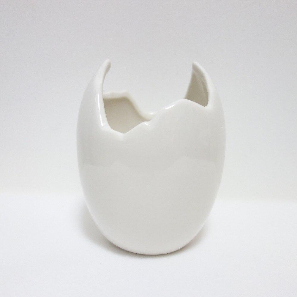 compare prices on white flower vases online shoppingbuy low  - new broken eggshell flower vase white ceramic modern vases decorativeschinese ceramic vase art mini ceramic