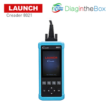 цена на Launch CReader 8021 Automotive scanner With Battery Management System(BMS) Oil,SAS,EPB Reset+ABS+SRS Full OBDII/EOBD Functions