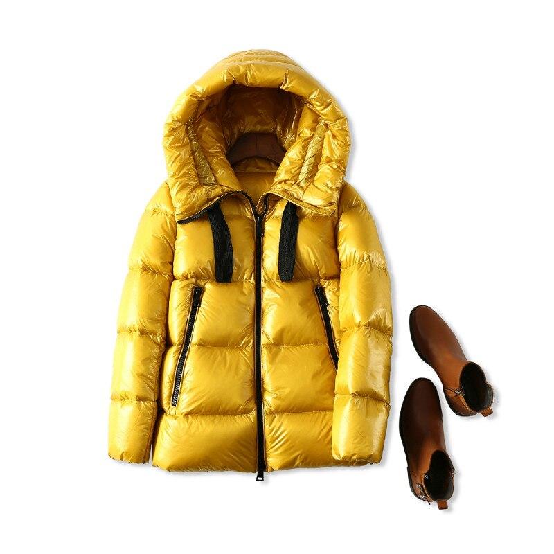 jaune Occident Haute 2018 Femelle Gros Nouveau Noir Veste Chaud Femmes Vers Qualité Le D'hiver Parka pourpre Épaissir Bas Tops Manteau rouge RvaxORwr