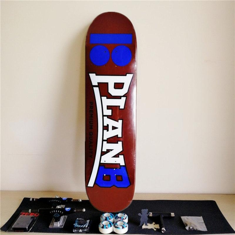 1 Set Quality USA Complete Skateboard Deck 7 875 8 8 125 8 25 inch Skate