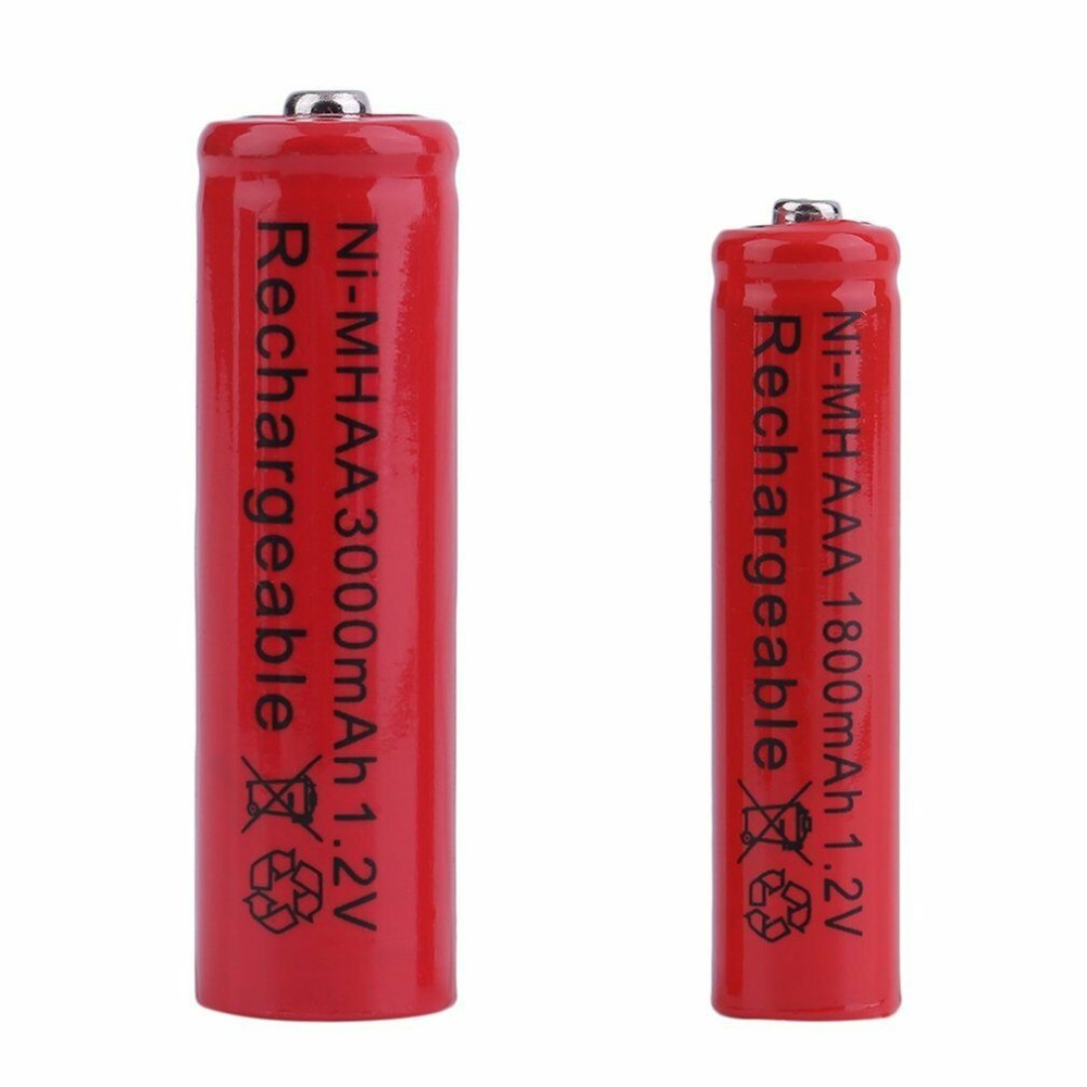 GTF 1.2V AA 3000mAh battery Or AAA 1800mAh 1.2V Ni-MH rechargeable battery for Toy Remote control Rechargeable Batteries
