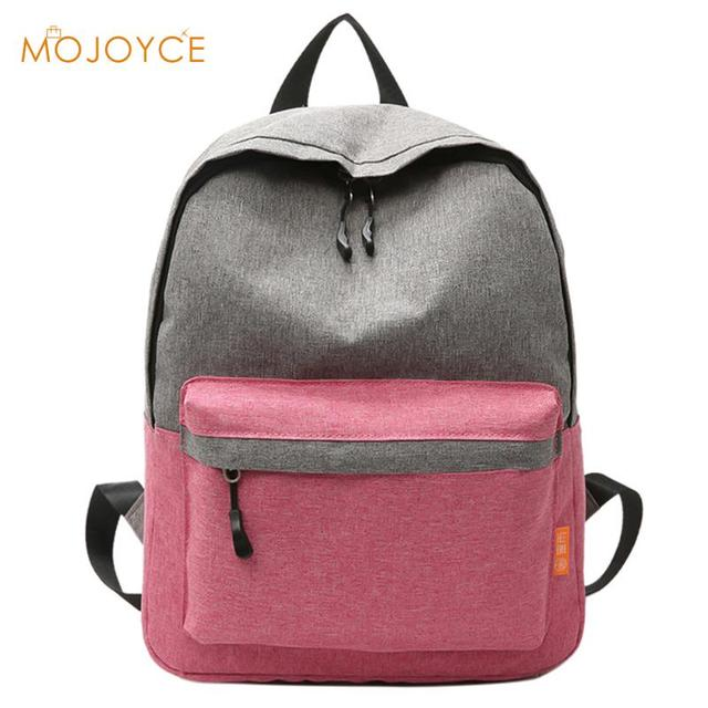 Moda mochilas para estudiantes lona para mujer Mochila mujer 2018 sac a dos  bolsa Feminina viaje dacaf9edd11a6