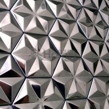 "sheet size 12x12"", self adhensive stainless steel metal mosaic tiles wall tiles kitchen backsplash HME8011"
